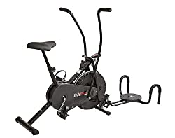 Lifeline Air Bike with Twister and Pushup Wheel attachment