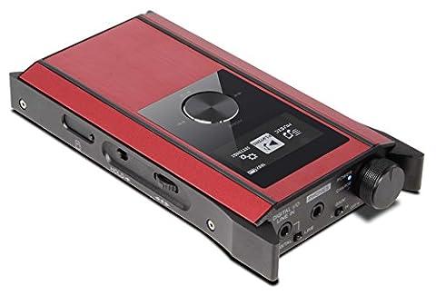 Teac HA-P90SD-R Baladeur numérique Carte Mémoire MP3 OLED - Rouge