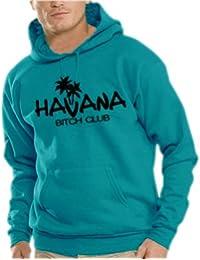 Touchlines Herren Havana - Bitch Club Kapuzen Sweatshirt B7024