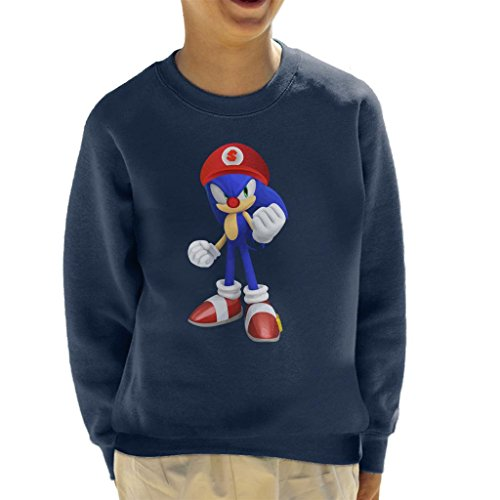 he Hedgehog Super Mario Hat Kid's Sweatshirt ()