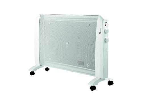 SUNTEC Infrarot-Wärmewelle Heat Wave Style eco [Für Räume bis 25 m³ (~11 m²), Wellness-Wärme ohne Zugluft + gutes Raumklima, 2 Heizstufen, max. 2000 Watt]
