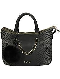 315bd282a7cd Liu Jo Femmes Tote   Shoppers Shopping S Poppa Noir N65077E0033-22222