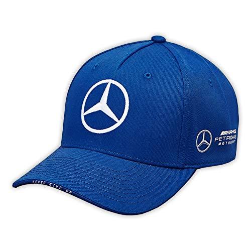Mercedes AMG Petronas F1 Driver Valtteri Bottas Deckel Blau Offiziell 2019