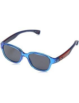 Tommy Hilfiger Unisex-Erwachsene Sonnenbrille TH 1499/S IR, Schwarz (Azure), 43