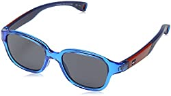 Tommy Hilfiger Th1499s Oval Sunglasses, Azure, 43 mm