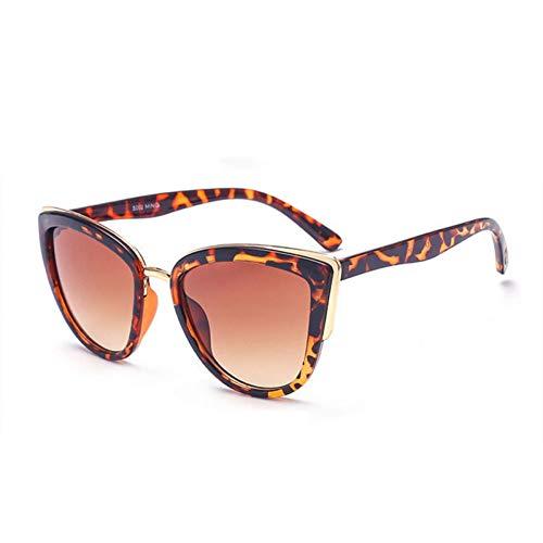 YLNJYJ Sonnenbrillen Brille Mode Cat Eye Sonnenbrille Frauen Luxury Vintage Sonnenbrille Weibliche 90Er Jahre Stil Brille Uv400