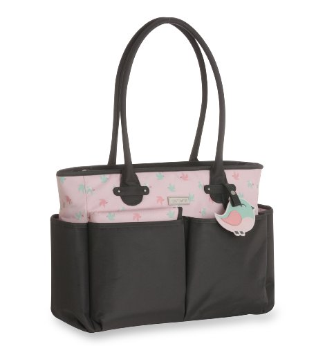 Carter's Novelty Tote Diaper Bag, Bird Print