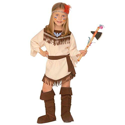 Imagen de disfraz de indio para niños traje carnaval pocahontas chica oeste