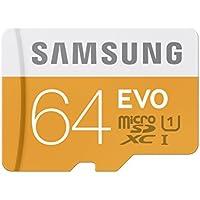 Samsung 64GB MicroSDXC 64GB MicroSDXC Clase 10 memoria flash - Tarjeta de memoria (64 GB, MicroSDXC, Clase 10, 2.7,3.3,3.6 V, -25 - 85 °C, -40 - 85 °C)