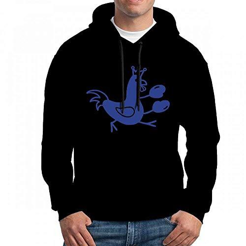 Rooster Long Sleeve for Men Custom Hoodie Sweatshirt