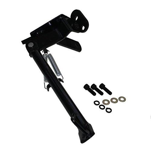 Seitenständer schwarz inkl Schrauben für Peugeot Speedfight 1, 2 LC, AC Euro 2 (Iron Cross Automotive)