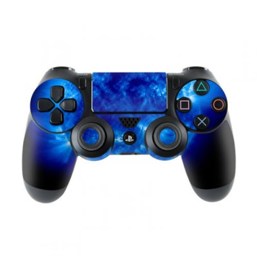Skins4u Sony Playstation 4 Skin PS4 Controller Skins Design Sticker Aufkleber styling Set auch für Slim & Pro - Blue Giant