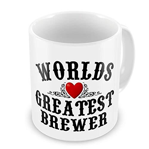 Worlds Greatest Brewer Novelty Gift Mug -