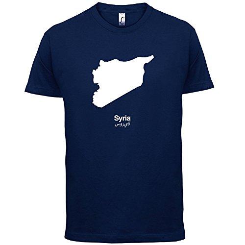 Syria / Syrien Silhouette - Herren T-Shirt - 13 Farben Navy
