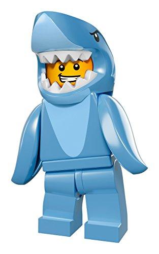 LEGO® Minifigures - 71011 - No 13 - Mann im Haikostüm - Shark Suit (Mann Lego Kostüm)