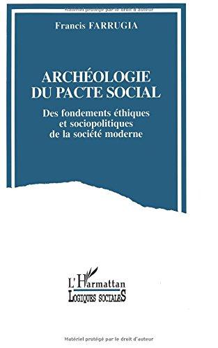 Archéologie du pacte social