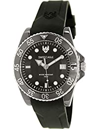 Swiss Eagle Reloj de cuarzo Dive Negro 41  mm