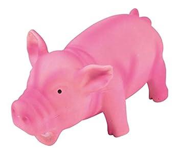 AMI CONFORT Cochon Grogne Jouet pour Chien en Latex 15 cm