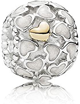 Charm Silber-schimmernde Liebe im