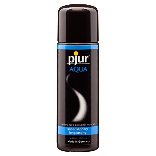 pjur Aqua - Premium-Gleitgel auf Wasserbasis, Made in Germany, 1er Pack (1 X 0.03 L)