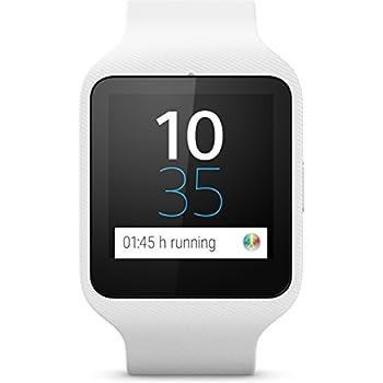 Sony SmartWatch 3 SW50 - Smartwatch (Estanco al agua - clasificación IP68), blanco