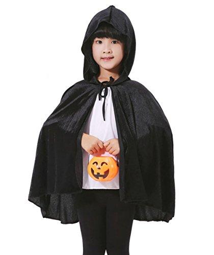 Für Gruppe Lustige Ideen Kostüm Frauen (Uleade Halloween Weihnachten Kostüme für Kinder, Kapuzenumhang Samt Cape Cosplay für Schule Dress)