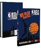 Quo Vadis - 1 Agenda Journalier Basketball NBA - Sept 2019 à Août 2020 - 12 x 17 cm