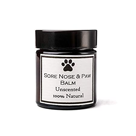 Clovelly Soap Co Natürlicher handgemachter Nasen-, Haut- & Pfotenbalsam – alle Hunderassen 30g Lavendel Pfotenpflege