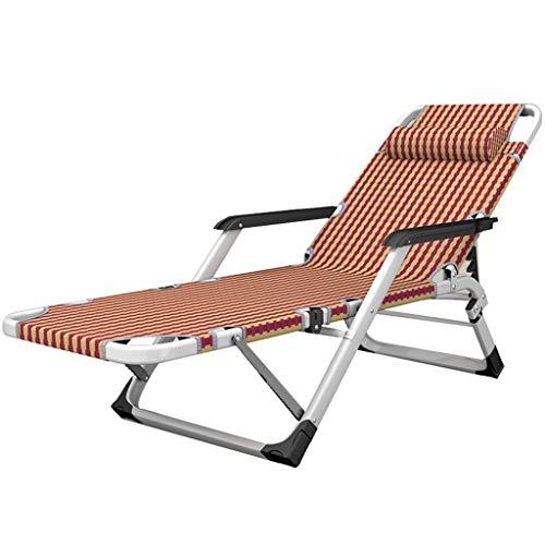 Chaise longue d'extérieur inclinable de lit de repos de soleil extérieur dans le jardin résistant aux intempéries de Textoline Zero Gravity (Couleur : Chair)