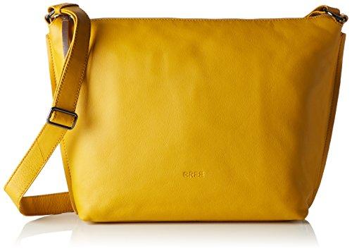 BREE Toulouse 2 S17, sac bandoulière Gelb (mango)