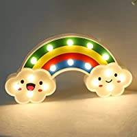 Rainbow Shape LED Marque Light. Perfect for Kids Room Decoration. Rainbow Light with Cell.