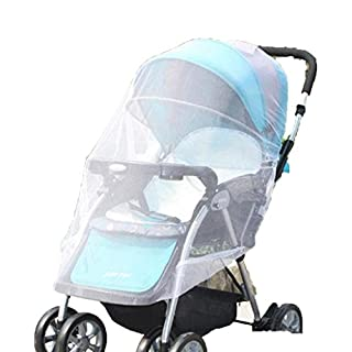 AmaMary88 Baby Mosquito Net for Stroller (white)