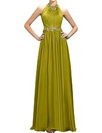 Gorgeous Bride Fashion A-Linie Lang Chiffon Abendkleider Cocktailkleid Ballkleider
