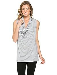 2LUV - Camiseta de tirantes - Sin mangas - para mujer