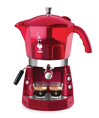 Bialetti Mokona Trasparente Rossa, Macchina del caffè, sistema aperto
