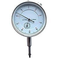 Indicador de esfera, indicador de LouisaYork calibre de la esfera: 0 – 10 mm de precisión, instrumento de medición de la parte trasera de la lengüeta de 0,001 pulgadas.