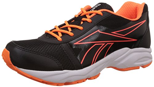 Reebok Women's Sonic Run Black, Light Orange and White Running Shoes - 7 UK  available at amazon for Rs.1499