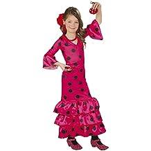 Guirca - Disfraz Andaluza, talla 3-4 años, ...