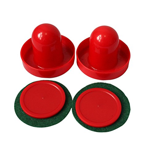 Bestim incuk Mini Air Hockey 60 mm Torhüter 50 mm Pucks Set Filz Pusher CN Verkäufer -