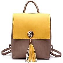 Borla mujer pequeña mochila de cuero pu Cute mochilas escolares para niñas