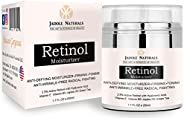 Jadole Naturals Beauty Retinol Moisturizer Cream For Face And Eye Area With Retinol Hyaluronic Acid Vitamin E