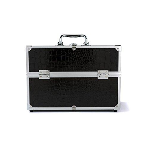 YAAGLE Damen und Herren Kosmetikkoffer Multikoffer Etagenkoffer Transportkoffer Schmuckkästen elegant Schminkkoffer