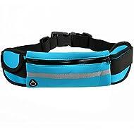 GXYLLDS Deporte Bolsa Casual Cinturón Cintura Estiramiento Cintura Diseno Transpirable Malla Impermeable Auricular Perro Caminar Andar Bicicleta,A3-OneSize