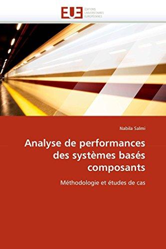 Analyse de performances des systèmes basés composants par Nabila Salmi