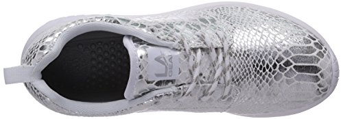 LA Gear Sunrise, Baskets mode homme Argent - Silber (Silver-Wht 03)