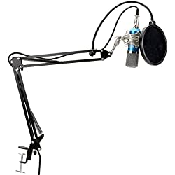 TONOR XRL 3.5mm Micrófono Condensador de Grabación