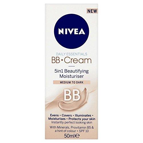 Nivea Visage Bb Cream - Mittel / Dunkel (50 Ml)