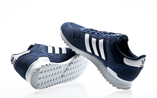 adidas ZX 700, Scarpe da Corsa Unisex – Adulto mystery blue-footwear white-mystery blue
