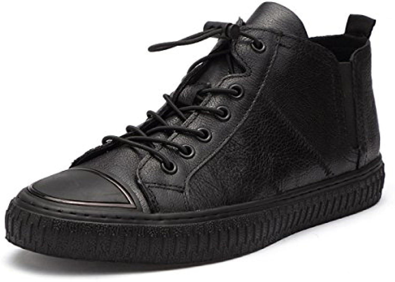Versión Coreana Encaje Zapatos De Hombre Zapatos Moda Zapatos Casuales -