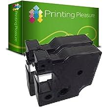 2x Kompatible Schriftbänder für Dymo 45018 S0720580 Kassetten-Drucker Pro Serie